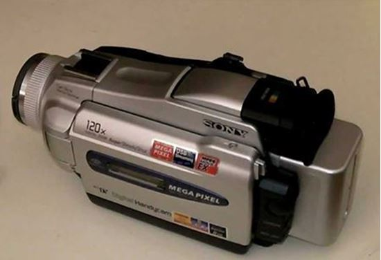 Picture of Sony 8 picxel camera
